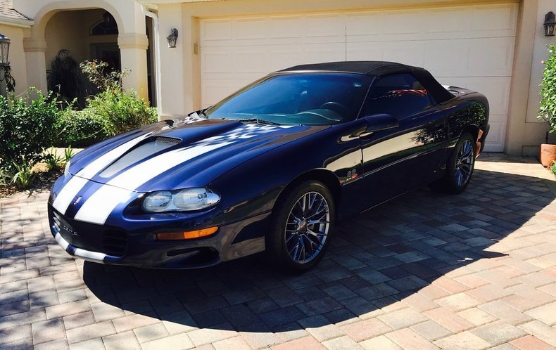 2002 chevrolet camaro ss for sale 74025 mcg. Black Bedroom Furniture Sets. Home Design Ideas