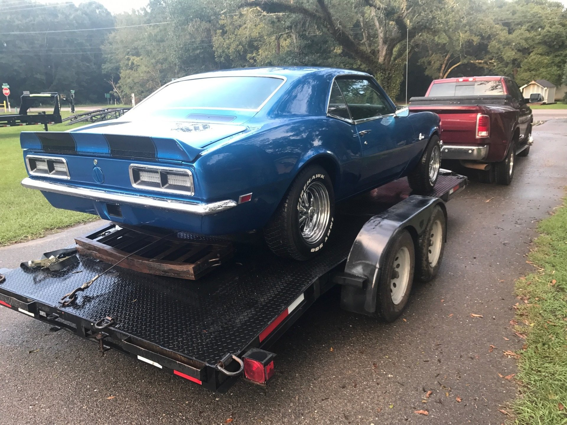 1968 Chevrolet Camaro Charlies Classic Cars Blue