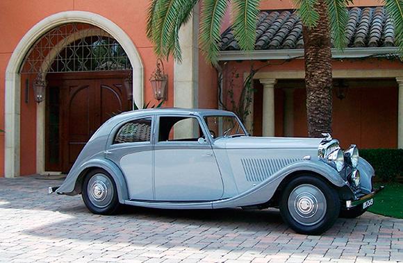 1935 Bentley Sport Saloon