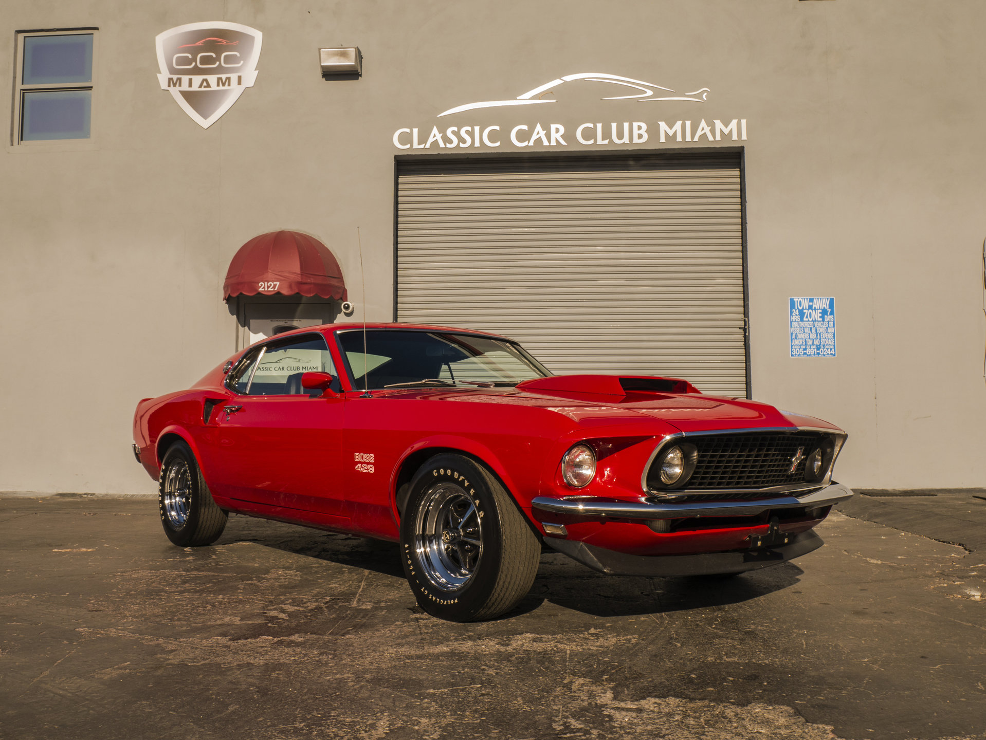 1969 Ford Mustang Boss 429 For Sale 92654 Mcg