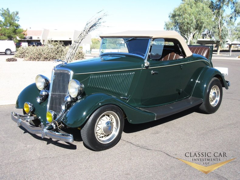 1934 Ford Roadster Street Rod