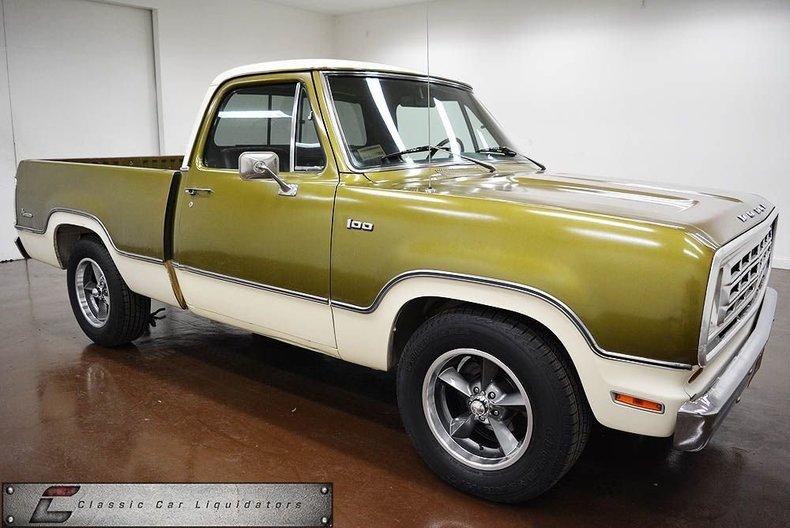 1974 Dodge D100 | Clic Car Liquidators in Sherman, TX