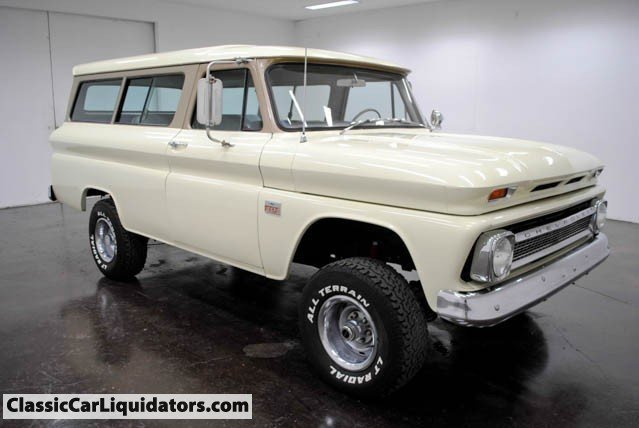 1966 Chevrolet Suburban Classic Car Liquidators in
