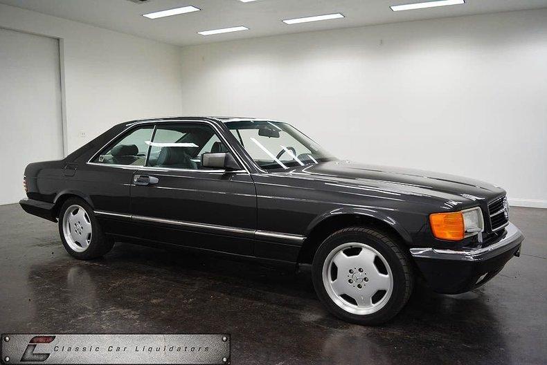 1989 Mercedes-Benz SEC