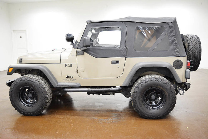 2004 jeep wrangler classic car liquidators in sherman tx. Black Bedroom Furniture Sets. Home Design Ideas