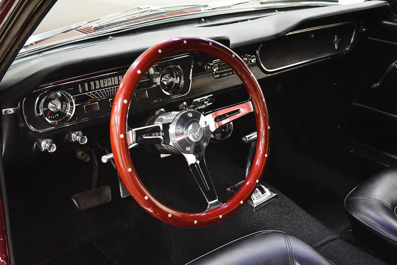 1965 Ford Mustang --: 1965 Ford Mustang  46314 Miles Maroon  5.0 Liter V8 C4 Automatic