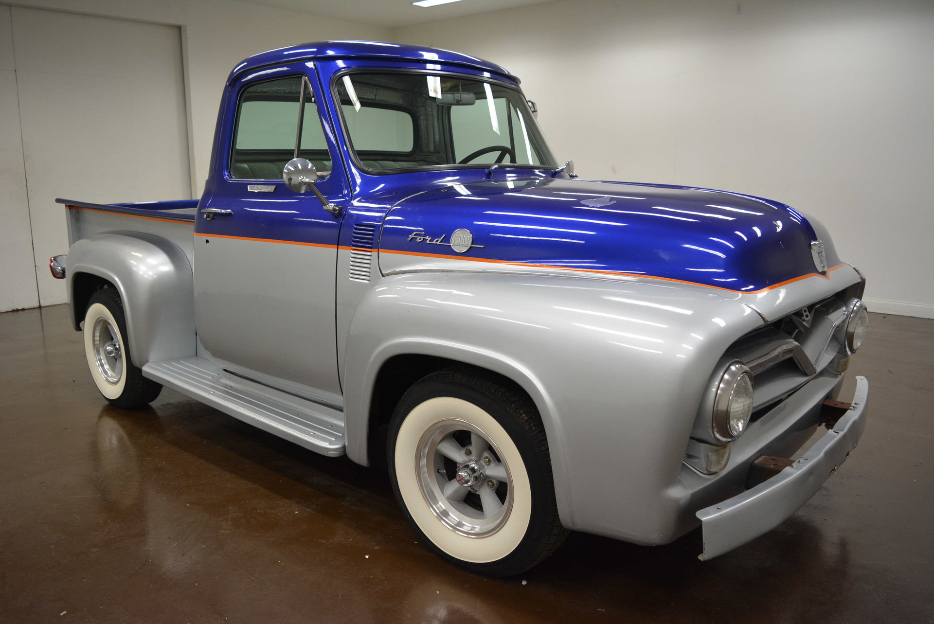 Inventory My Classic Garage 1955 Ford F100 White 4x4