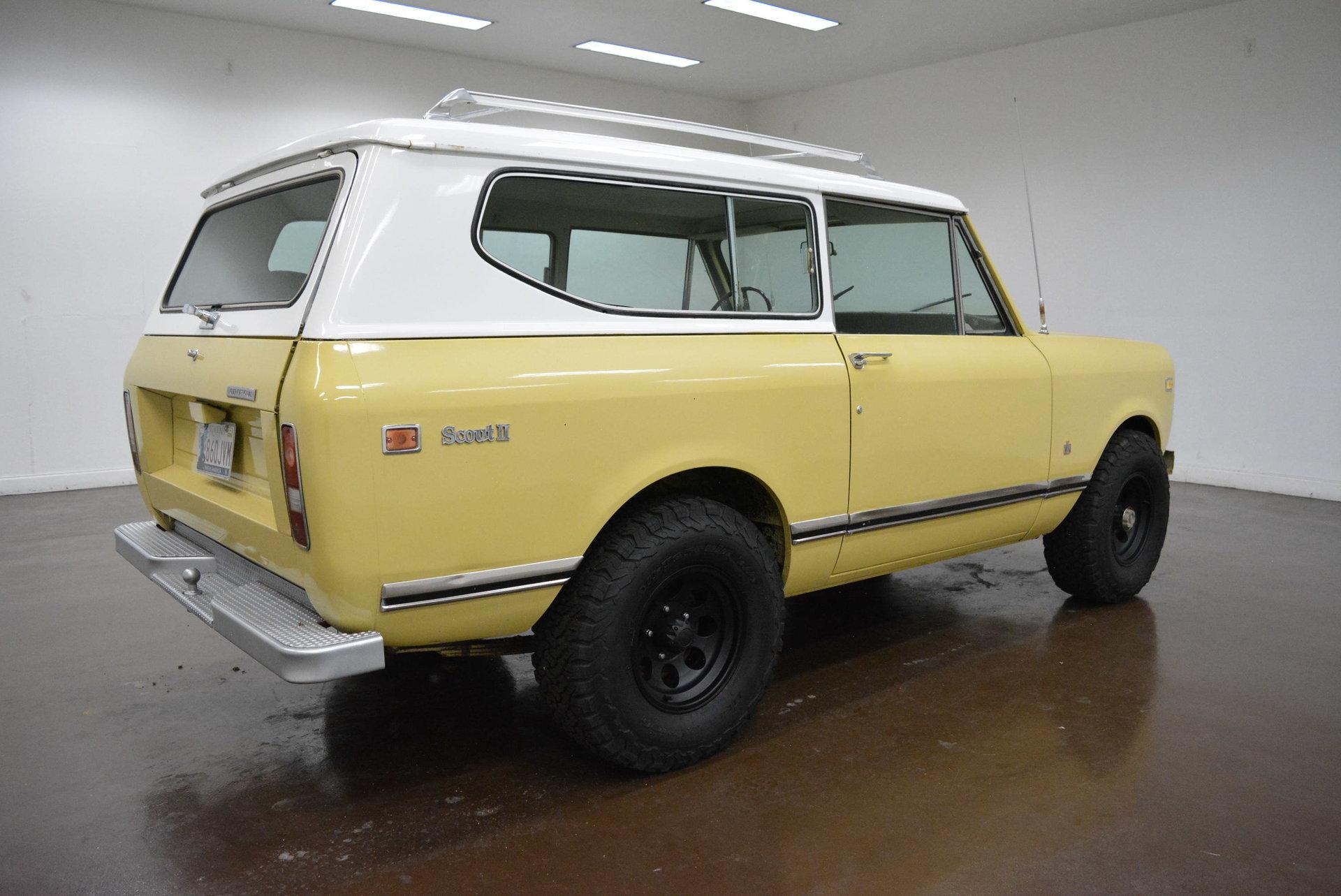 1972 International Scout Ii Classic Car Liquidators In