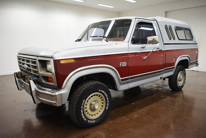 1984 ford f150 for sale 88448 mcg. Black Bedroom Furniture Sets. Home Design Ideas