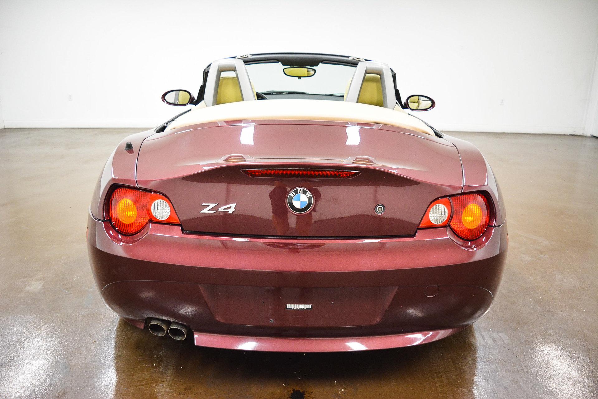 2003 Bmw Z4 For Sale 87727 Mcg
