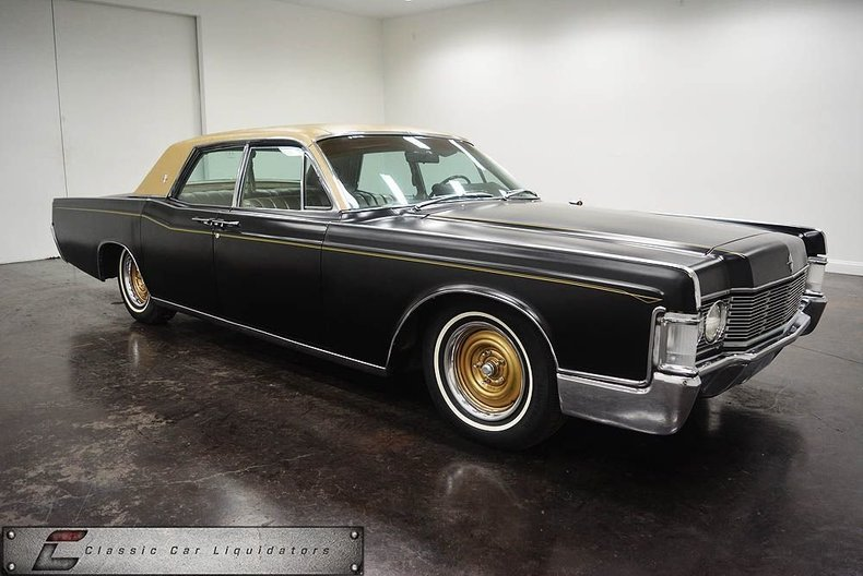 1968 lincoln continental classic car liquidators in. Black Bedroom Furniture Sets. Home Design Ideas