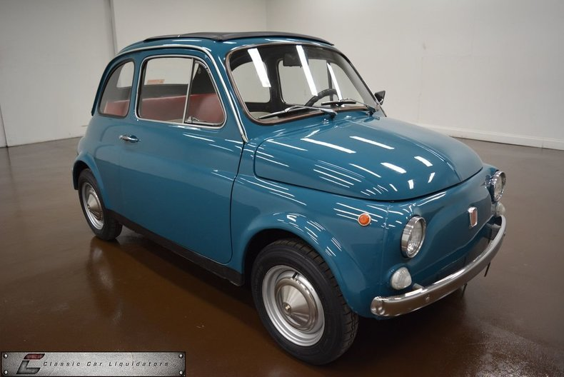 1970 fiat fiat 500 classic car liquidators in sherman tx. Black Bedroom Furniture Sets. Home Design Ideas