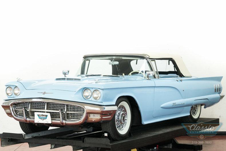 1960 Ford Thunderbird Duffys Classic Cars