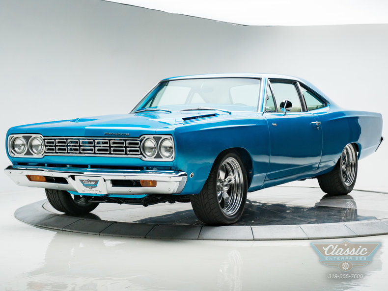 1968 plymouth road runner for sale 64753 mcg. Black Bedroom Furniture Sets. Home Design Ideas