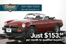For Sale 1979 MG MGB