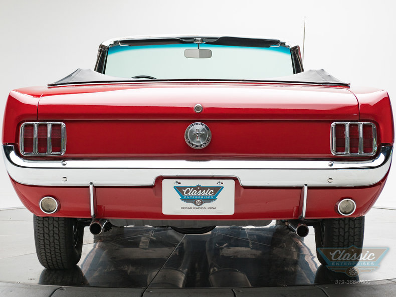 1966 Ford Mustang Convertible 289 V8 4V Automatic: 1966 Ford Mustang Convertible 289 V8 4V Automatic 289 V8 3 Speed Automatic Conve
