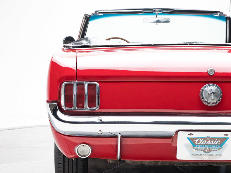 1966 Ford Mustang Convertible C Code 289 V8: 1966 Ford Mustang Convertible C Code 289 V8 V8 3 Speed Automatic Convertible Can