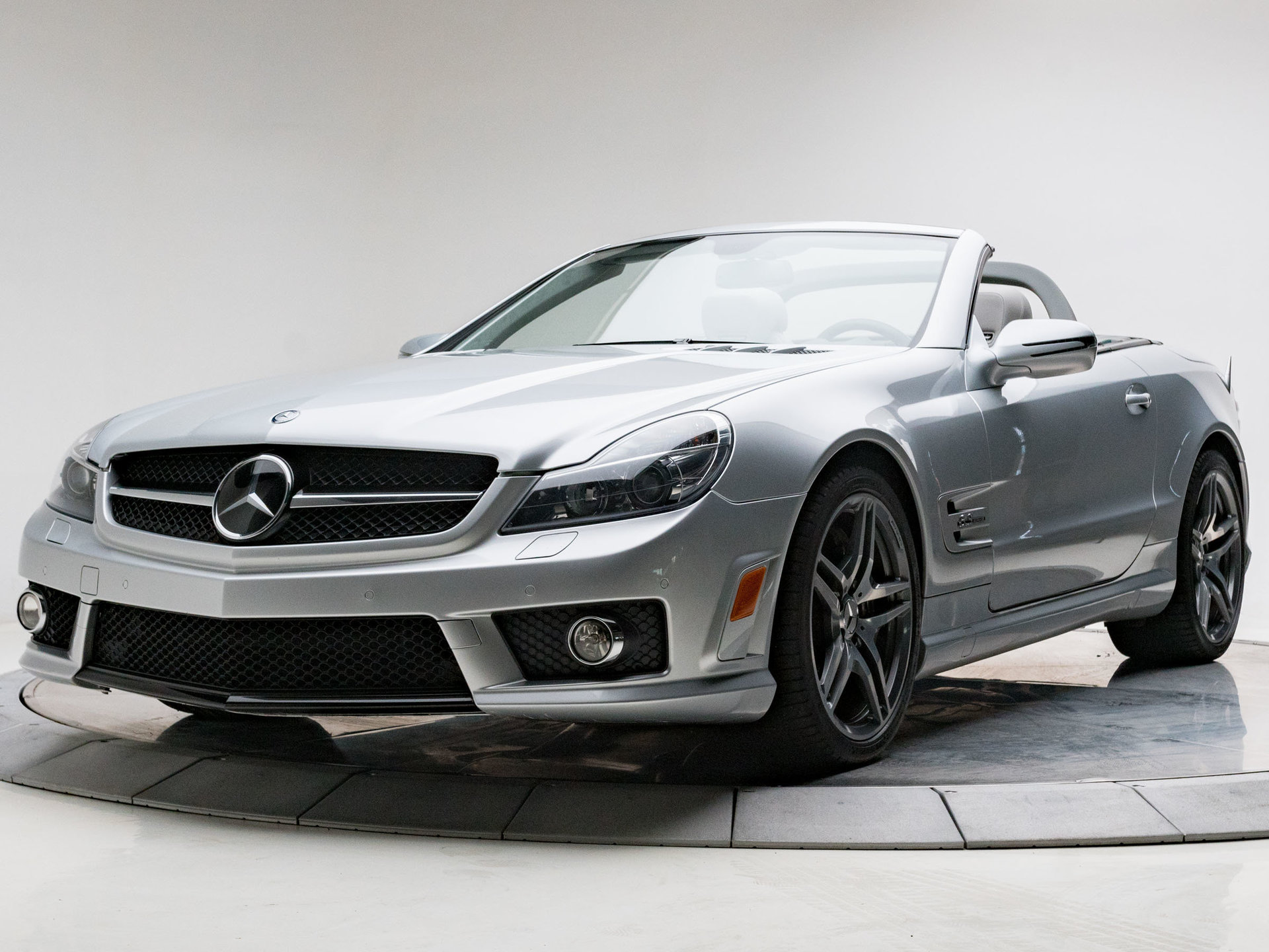 2009 mercedes benz sl63 amg for sale 77687 mcg. Black Bedroom Furniture Sets. Home Design Ideas