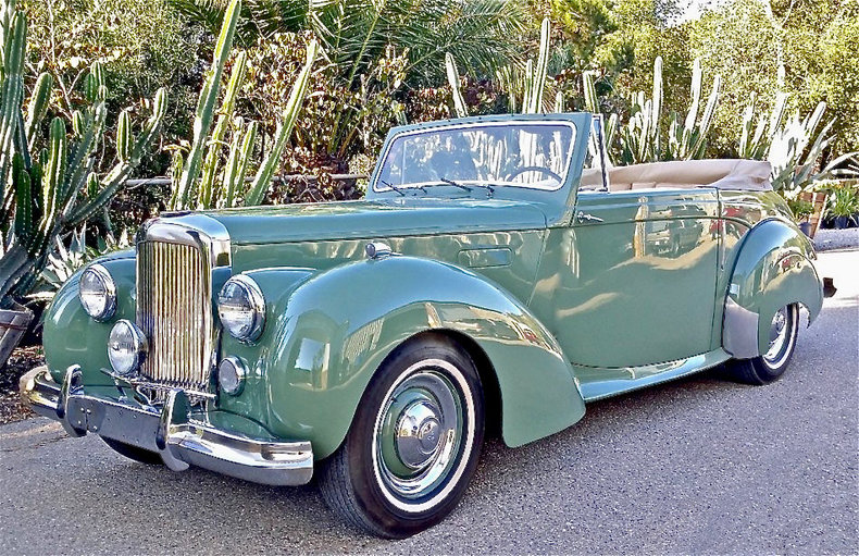 1951 Alvis TA21 Drophead Coupe by Tickford For Sale