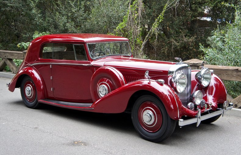 1939 Bentley 4 1/4 Litre Overdive Pillarless Coupe by Park Ward