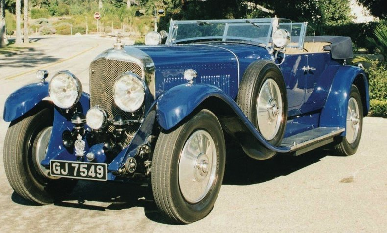 1930 1930 Bentley Speed 6 For Sale
