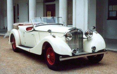 1938 Jensen S Type