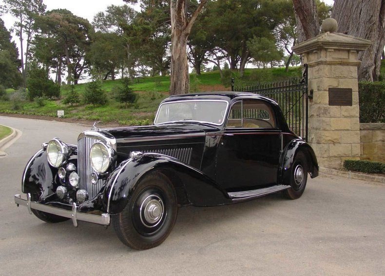 1939 Bentley 4 1/4 Liter Overdrive