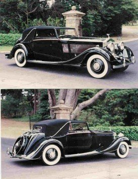 1934 1934 Rolls-Royce Phantom II Continental For Sale