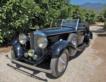 1936 Bentley 4 1/4 Litre