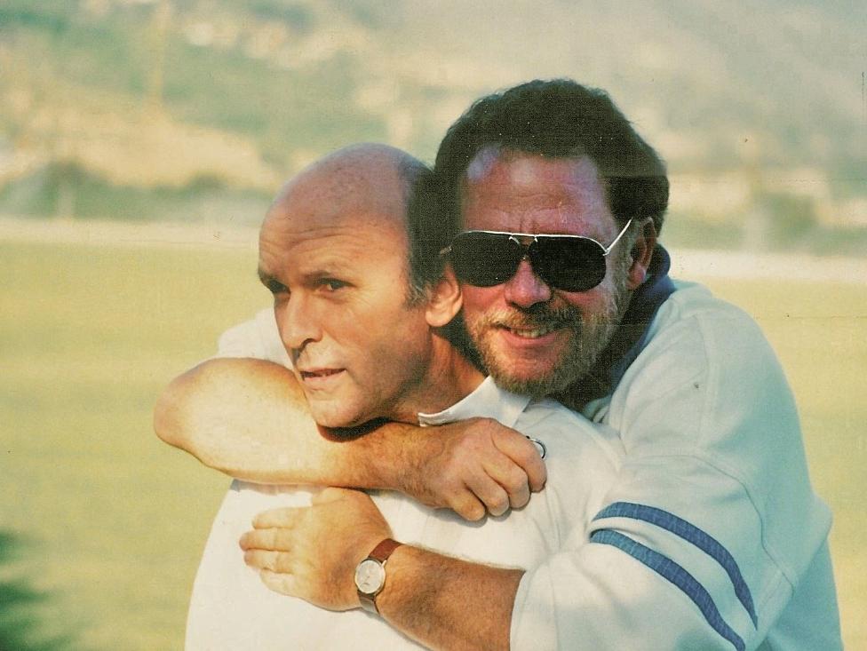 Chris Renwick and Charles Crail ca. 1989