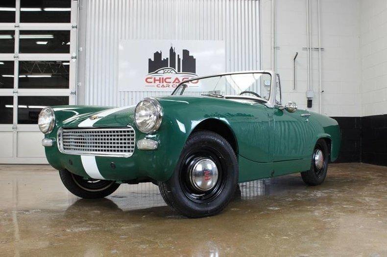 1966 Austin-Healey Sprite MKIII
