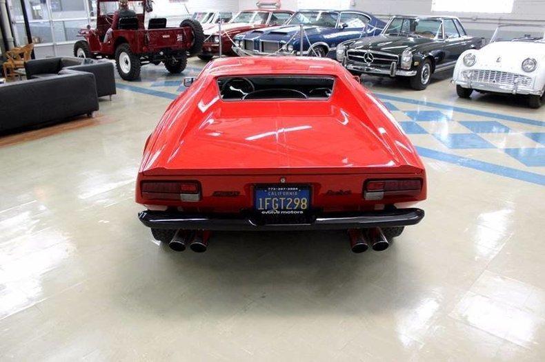 For Sale 1973 De Tomaso Pantera