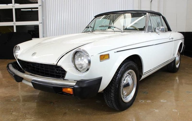 For Sale 1977 Fiat 124 Spider