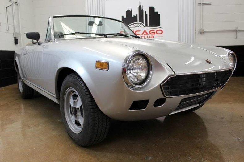 For Sale 1979 Fiat 124 Spider