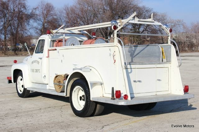 For Sale 1955 Ford F-53 Motor Home Chassis
