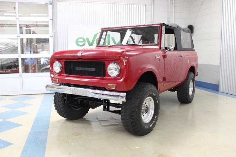 1969 International Scout 800