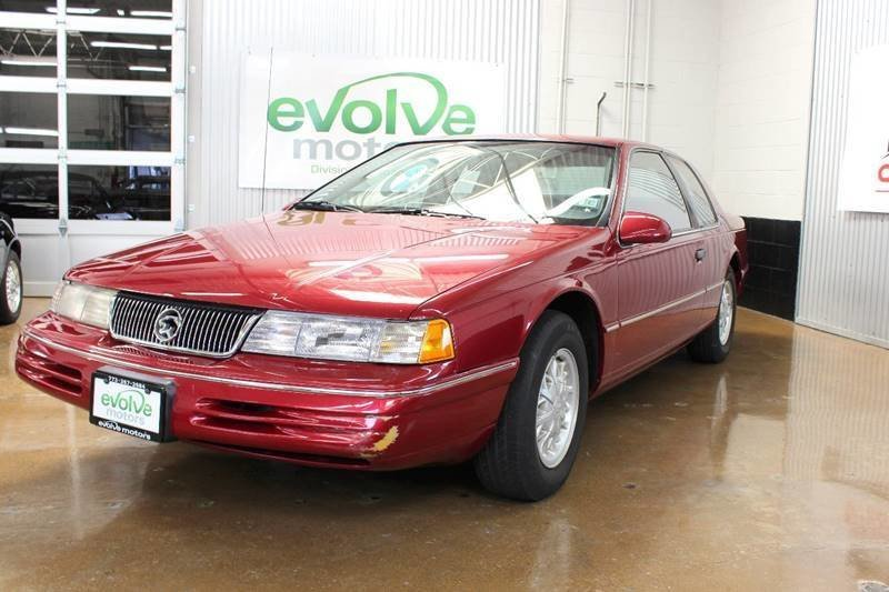 16580beb2d735 hd 1993 mercury cougar xr7 2dr coupe
