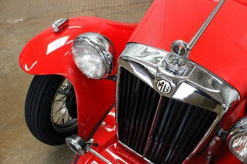 For Sale 1938 MG TA