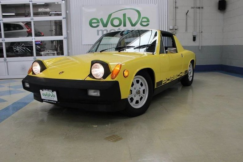 For Sale 1976 Porsche 914-4