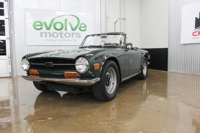 For Sale 1971 Triumph TR6