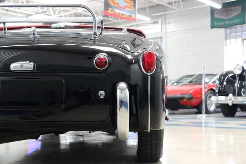 For Sale 1960 Triumph TR3-A