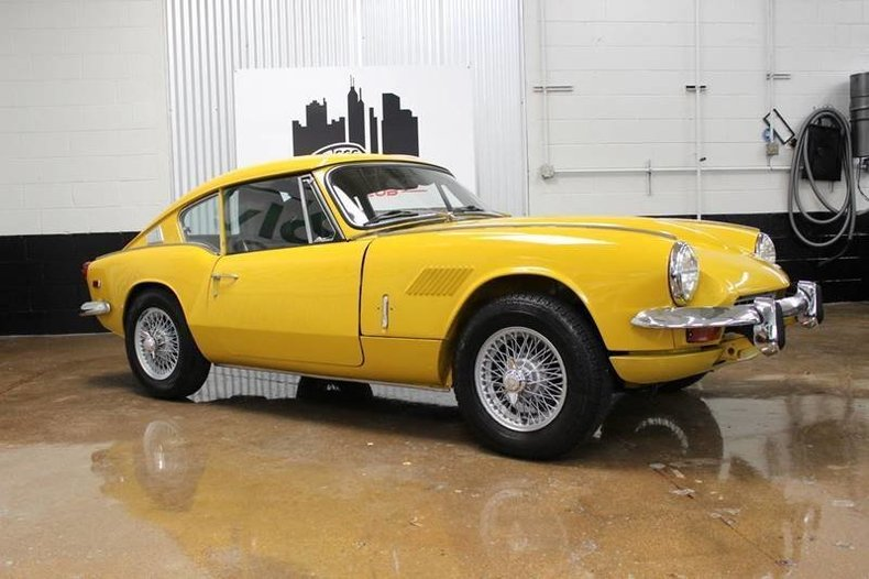 For Sale 1969 Triumph GT6+