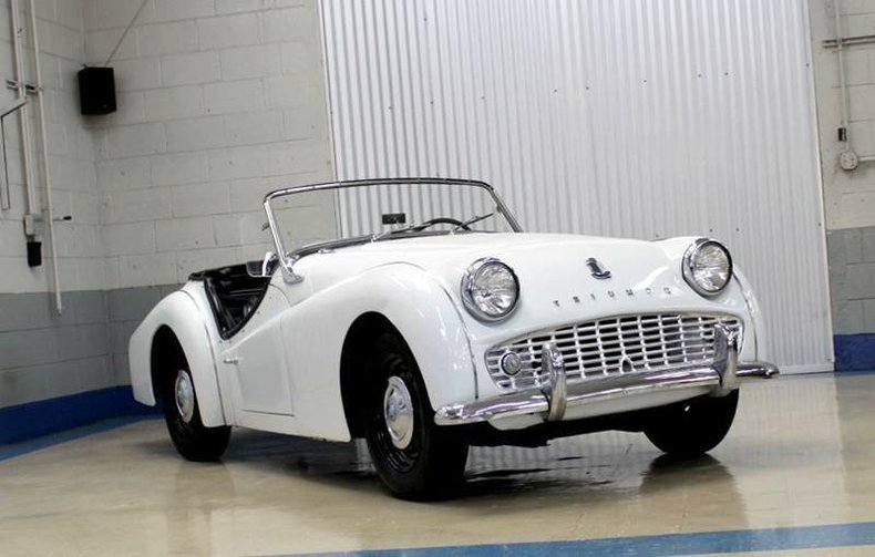 For Sale 1961 Triumph TR3