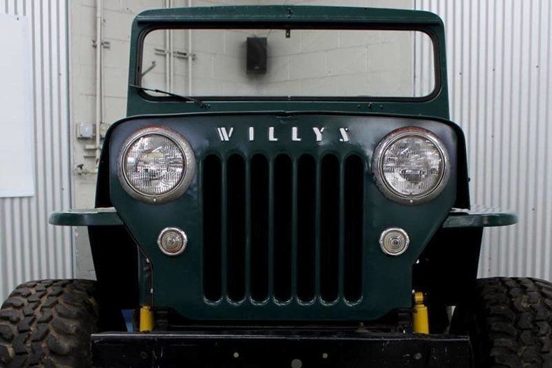 For Sale 1954 Willys Jeep