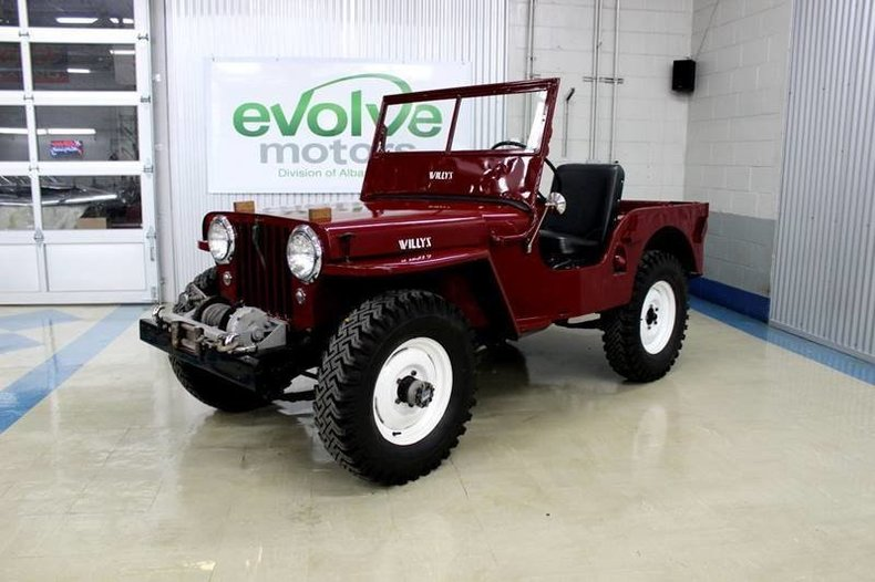For Sale 1948 Willys Jeep