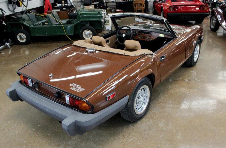 For Sale 1980 Triumph Spitfire