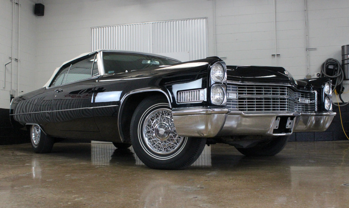 1966 Cadillac DeVille Convertible For Sale ...