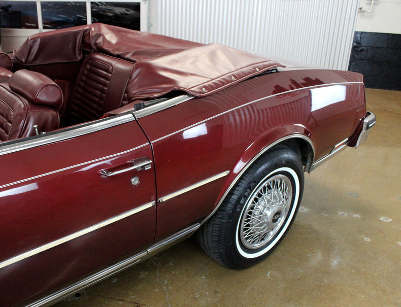 For Sale 1982 Buick Riviera Convertible