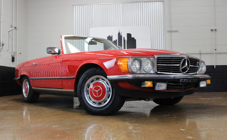 1985 Mercedes Benz 280SL Euro For Sale
