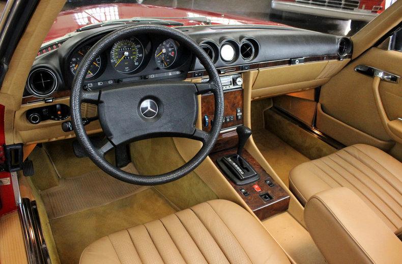 For Sale 1985 Mercedes Benz 280SL Euro